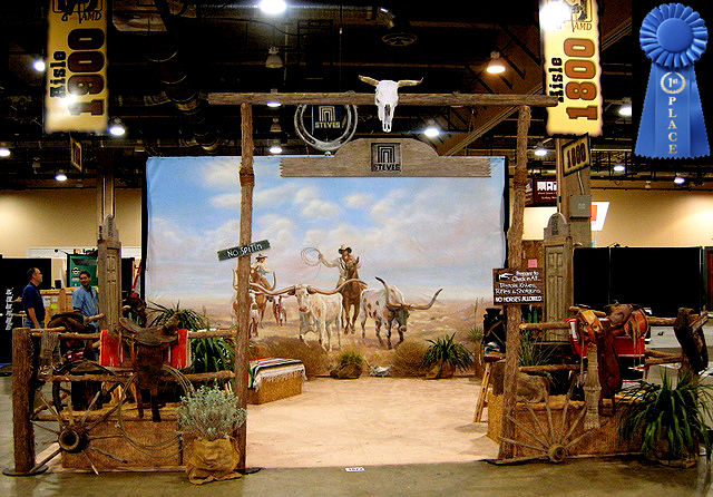 TRADE SHOW BOOTHS COMPANY WESTERN BOOTH